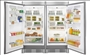 Upright Refrigerator and Freezer Pair with Trim kit (MUFD19 / MRAD19)